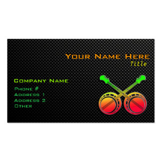 Sleek Dueling Banjos Business Card