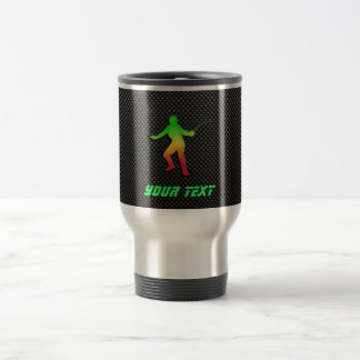 Sleek Fencing Travel Mug