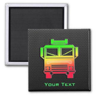 Sleek Fire Truck Magnets