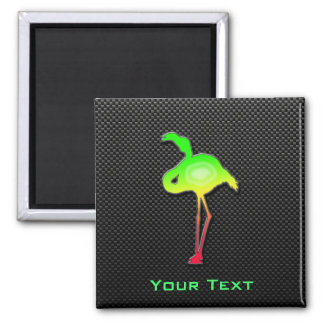 Sleek Flamingo Refrigerator Magnets
