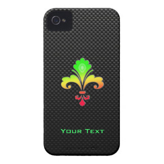 Sleek Fleur de lis iPhone 4 Case