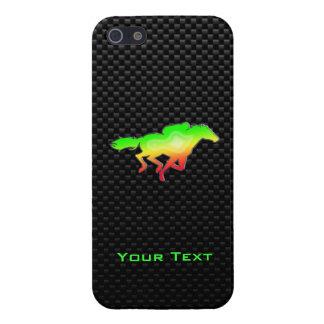Sleek Horse Racing iPhone 5/5S Cases