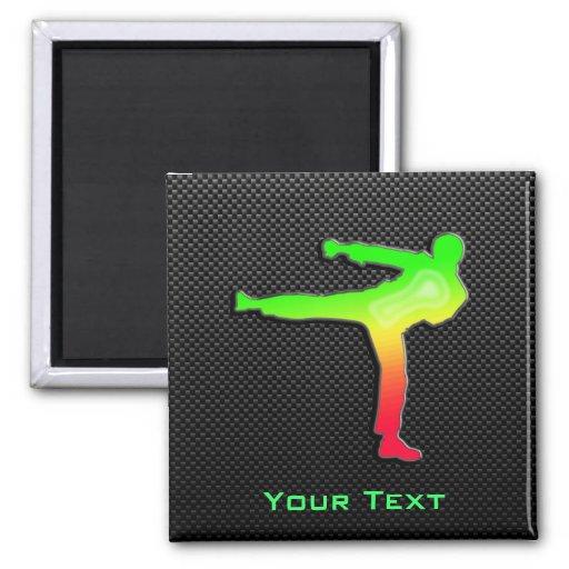 Sleek Martial Arts Fridge Magnets