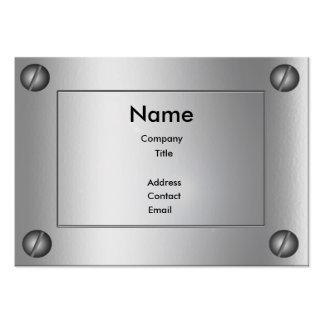 Sleek Metal Groovy - Business Card Templates