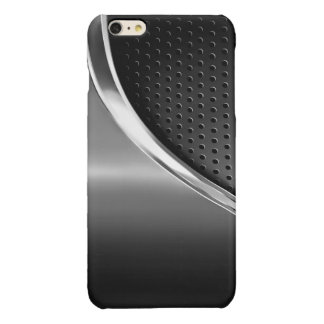 Sleek Mono Modern Metallic Look iPhone 6 Plus Case