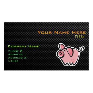 Sleek Pig Business Card Template