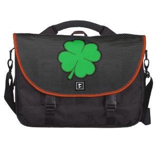 Sleek Shamrock Commuter Bag