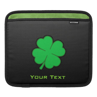 Sleek Shamrock iPad Sleeve