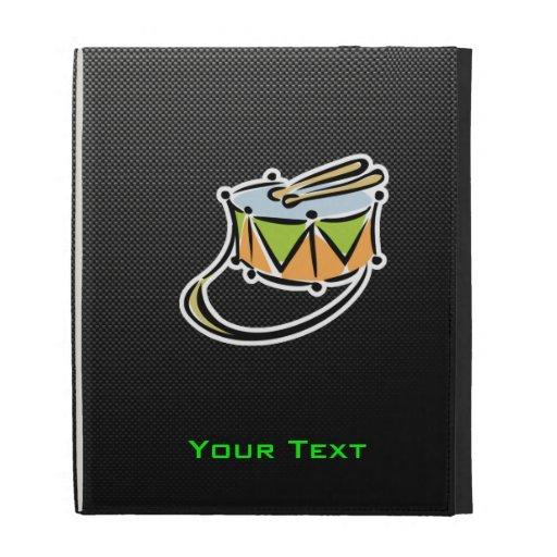 Sleek Snare Drum iPad Folio Case