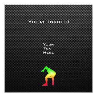 Sleek Speed Skater Invite