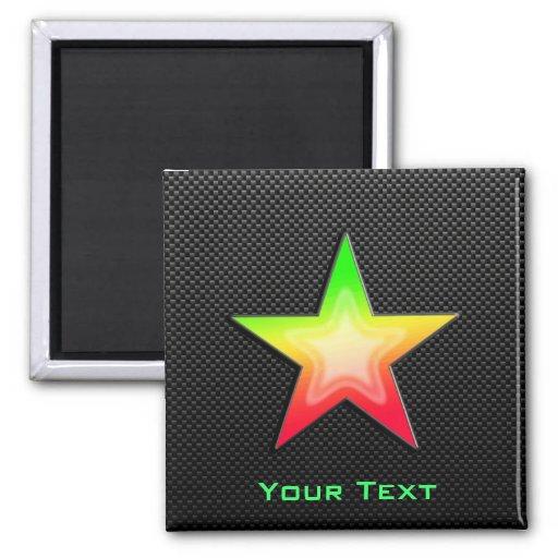 Sleek Star Fridge Magnets