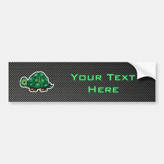 Sleek Turtle Bumper Sticker