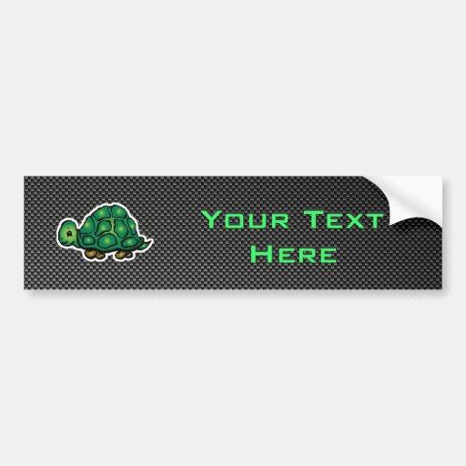 Sleek Turtle Bumper Stickers