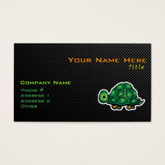 Sleek Turtle Business Card