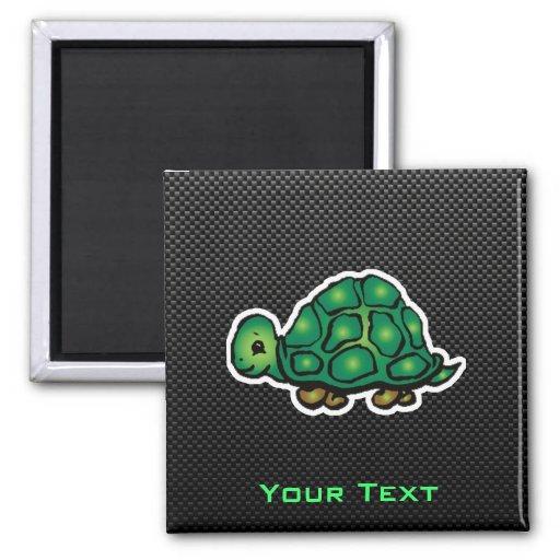 Sleek Turtle Fridge Magnets