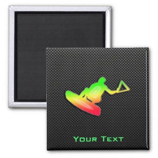 Sleek Wakeboarder Magnet