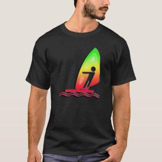 Sleek Windsurfing T-Shirt