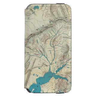 Sleem's Map of Central Alaska Incipio Watson™ iPhone 6 Wallet Case