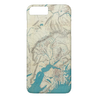 Sleem's Map of Central Alaska iPhone 8 Plus/7 Plus Case