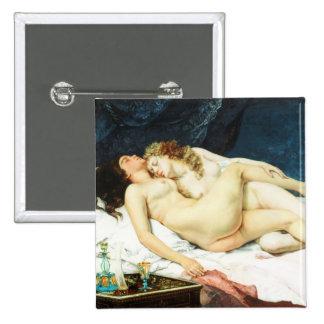 Sleep 15 Cm Square Badge