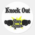 Sleep Apnoea Round Stickers