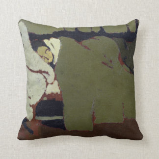Sleep, c.1891 cushion