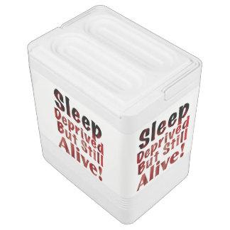 Sleep Deprived But Still Alive in FireandBrimstone Igloo Cool Box