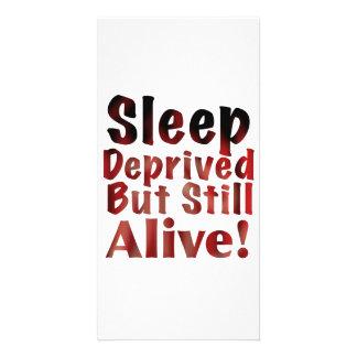 Sleep Deprived But Still Alive in FireandBrimstone Picture Card