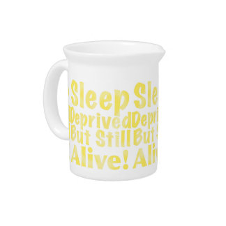 Sleep Deprived But Still Alive in Yellow Pitcher