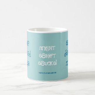 Sleep Deprived Nurse! Basic White Mug