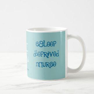 Sleep Deprived Nurse Mugs