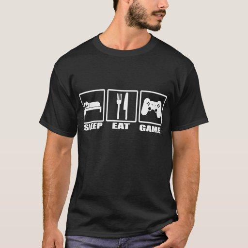 Sleep Eat and Game T-shirt