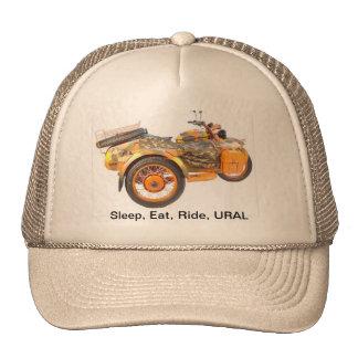 Sleep, Eat, Ride, URAL Cap