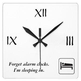 Sleep-In Clock