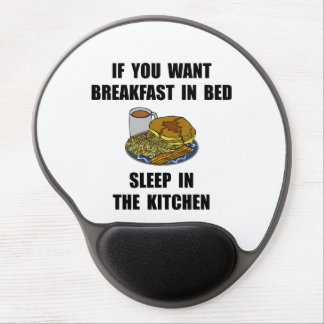 Sleep In Kitchen Gel Mouse Pad