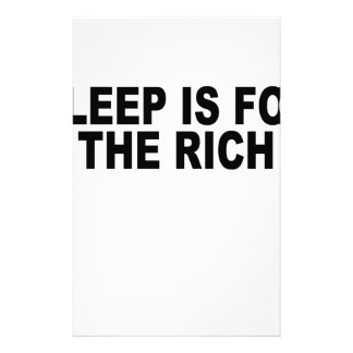 sleep is for the rich t-shirt.png stationery