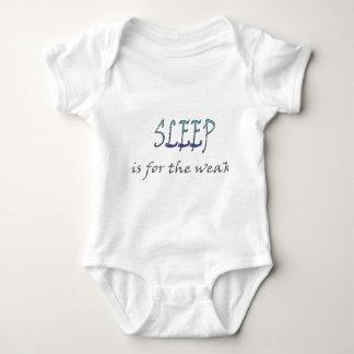 Sleep Is For The Weak Baby Bodysuit