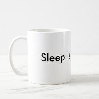 Sleep is for Wimps Classic White Coffee Mug
