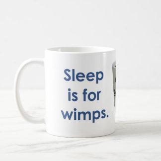 Sleep is for Wimps - Coffee Basic White Mug