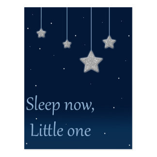 Sleep Now Little One Postcard