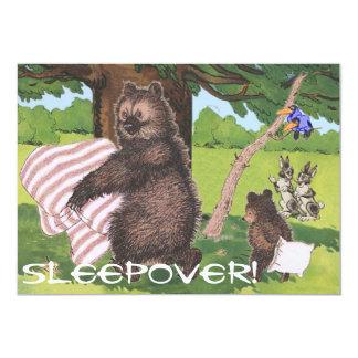 Sleep over invite