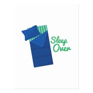 Sleep Over Postcard