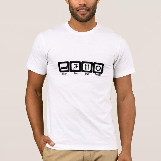 Sleep Run Eat Repeat T-Shirt