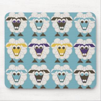 Sleep-Sheep - LONVIG by MINYMO Mouse Pad