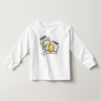 Sleep Tight Cat Doodle Toddler Long Sleeve T-Shirt