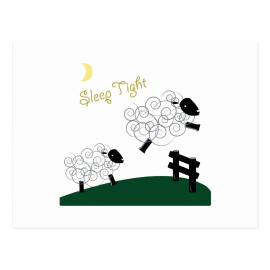 Sleep Tight Postcard