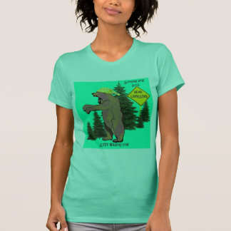 sleep walking bear T-Shirt