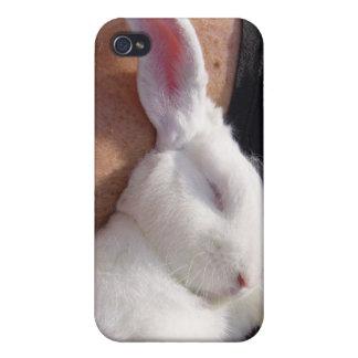 Sleep white Bunny Rabbit iPhone 4/4S Cover