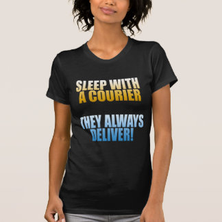 Sleep with a courier dark T-Shirt