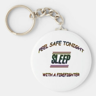 SLEEP WITH A FIREFIGHTER KEY RING